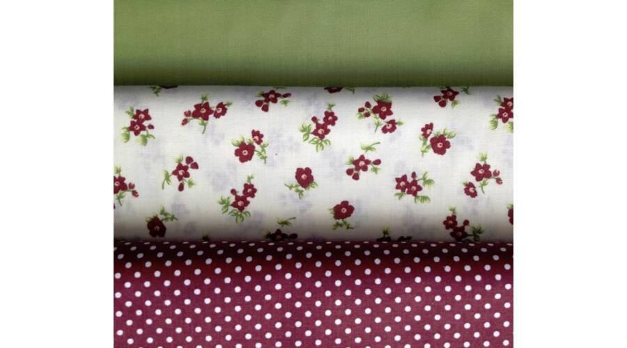 19a7559299 Zöld pamut vászon - 100% Pamut